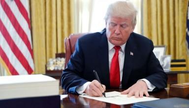 Trump'tan Giderayak İran'a Karşı Bir Girişim Daha