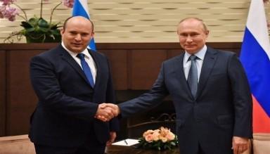 İşgal Rejiminin Suriye'ye Saldırılarının Gölgesinde Putin-Bennett Görüşmesi