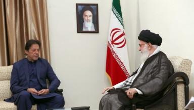 İslam İnkılabı Lideri'nin Pakistan Başbakanı ile Görüşmesi