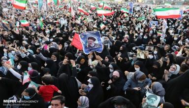 İran'da Seçim Kutlamaları
