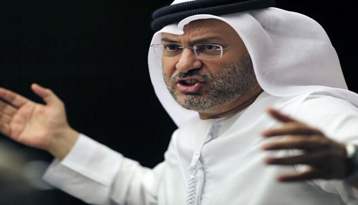 BAE'li Bakan Katar'daki Türk Ordusunun Hedef Aldı