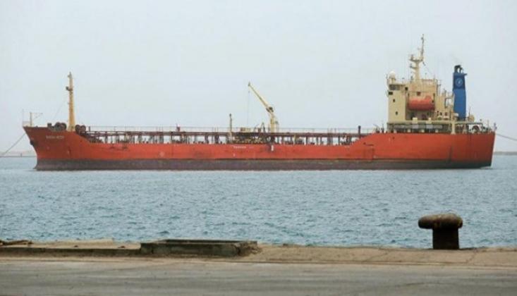 Suudi Koalisyonu Yemen'in Yakıt Tankerine El Koydu