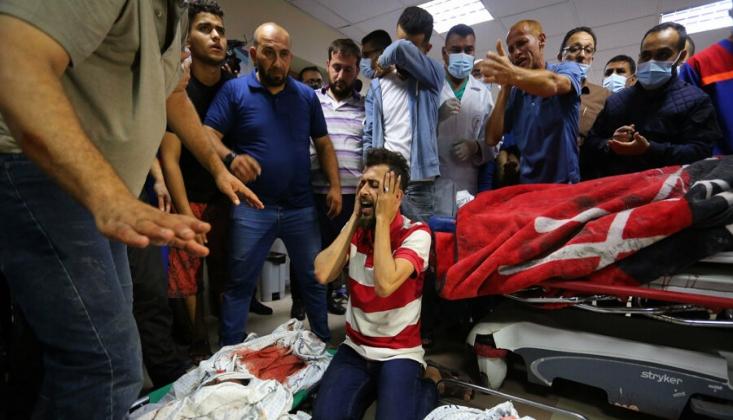 Siyonist İsrail'in Saldırılarında 39'u Çocuk 139 Kişi Şehit Oldu