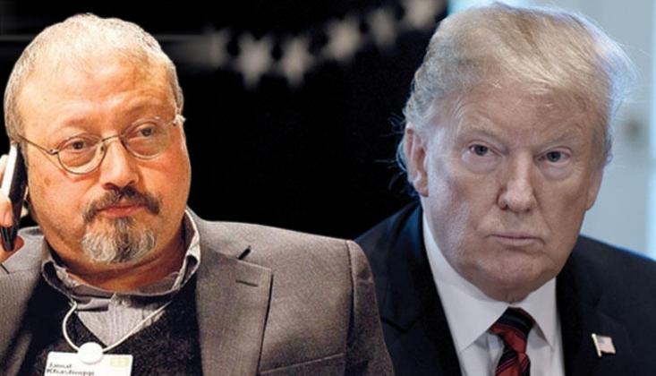 WP: Trump Kaşıkçı Cinayetinin Üstünü Örtüyor