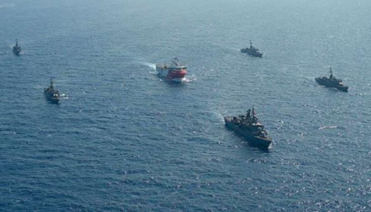 4 Ülkeden Doğu Akdeniz'de Tatbikat Kararı!