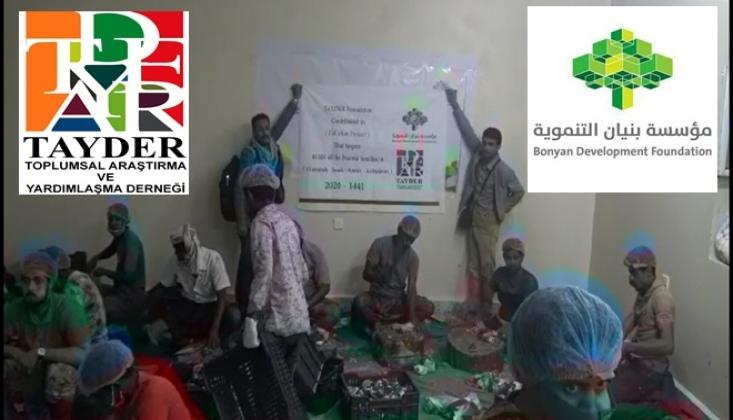 Yemen'li Yardım Kuruluşundan Türkiyeli  Yardımseverlere Teşekkür