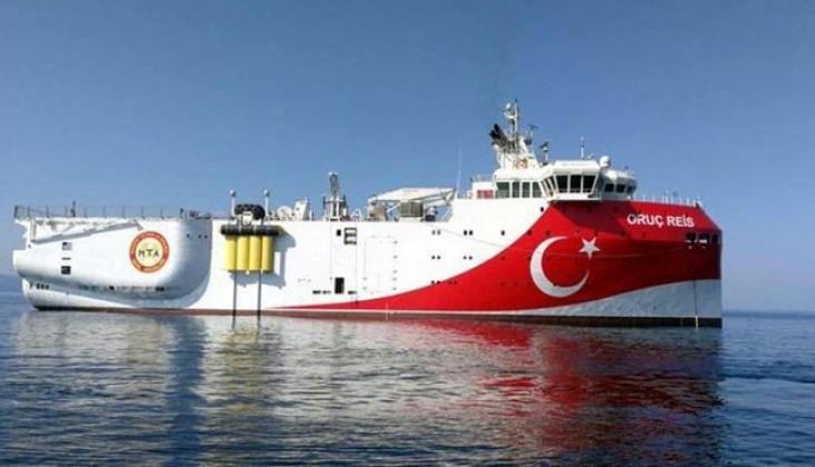 Oruç Reis Gemisi Antalya Limanı'na Geri Döndü