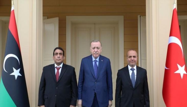 Erdoğan, Libya Heyeti İle Görüştü