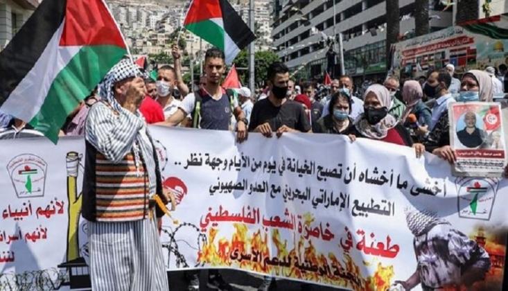 Filistin Halkının 'Öfke Günü' Protestosu