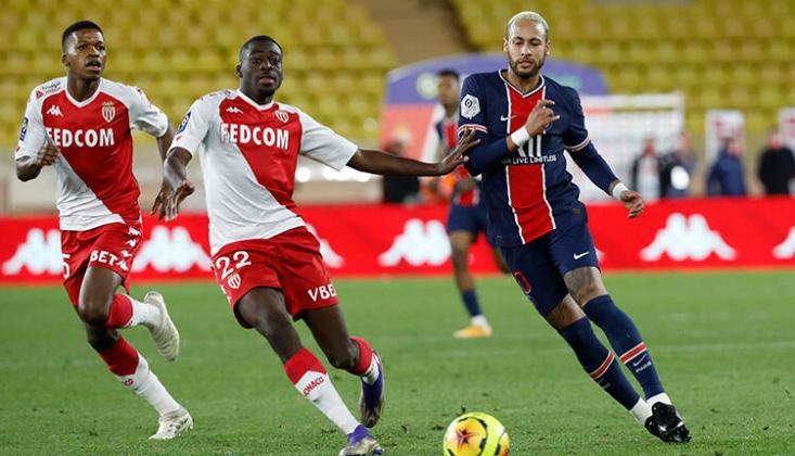 Monaco'dan Müthiş Dönüş! PSG Teslim Oldu