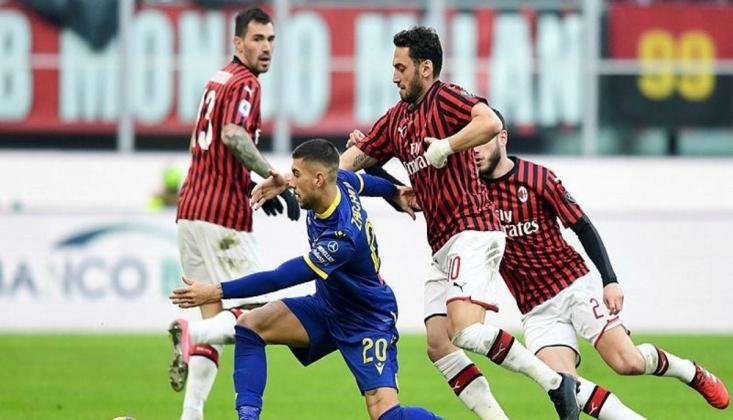 Hakan Çalhanoğlu Milan'ı İpten Aldı