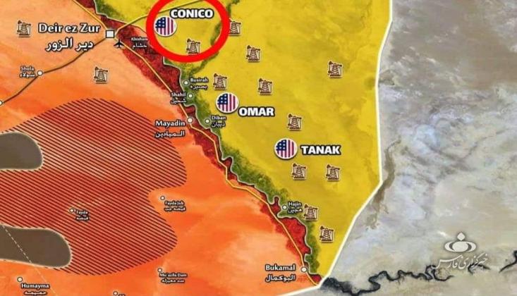 ABD'nin Suriye'deki En Büyük Askeri Üssüne Roketli Saldırı
