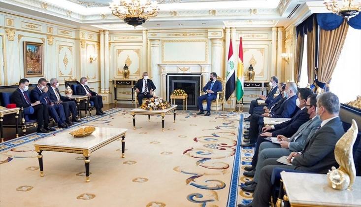 CHP Heyeti Erbil'de IKBY Başbakanı Barzani İle Görüştü
