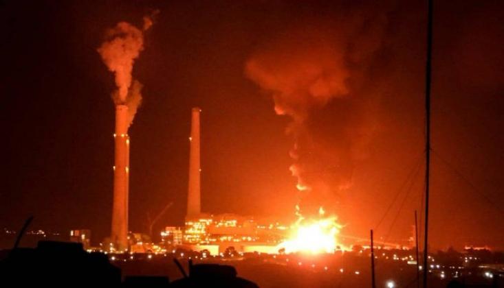 İşgalci İsrail 9 Gecedir Roketlerle Yaylım Ateşine Tutuluyor