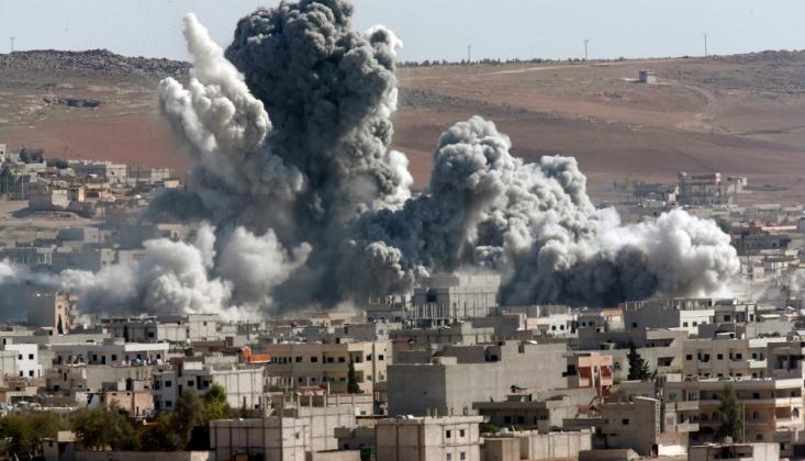 ABD Koalisyonu: Irak ve Suriye'de 1370 Sivili Öldürdük