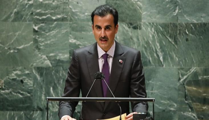 Katar Emiri, 'Suriye, Yemen ve İran'la Diyalog' Çağrısı Yaptı