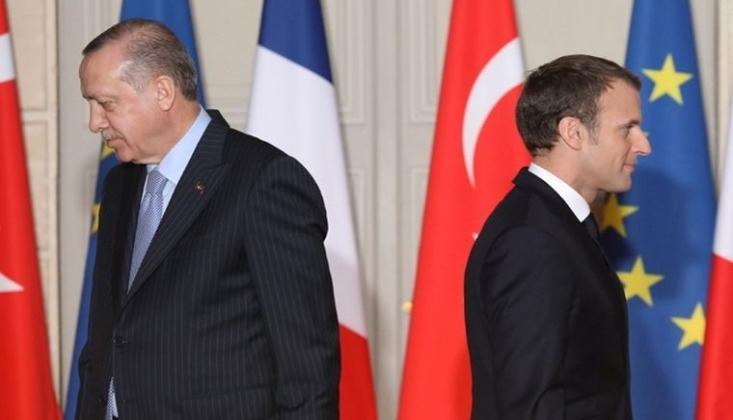 Fransa Ankara Büyükelçisi'ni Geri Çağırdı
