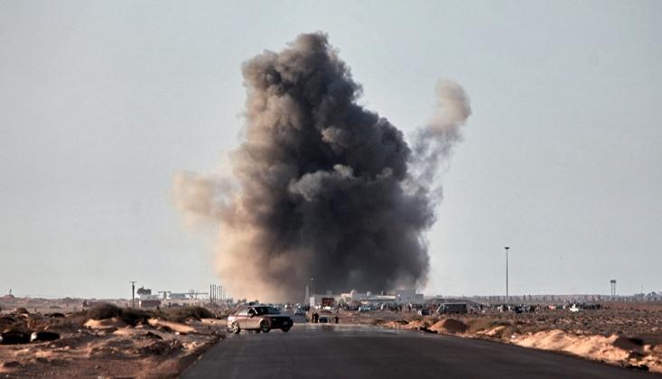 Hafter Güçlerinden Trablus'ta Hava Saldırısı