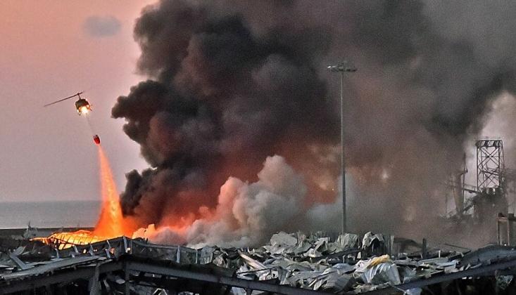 Beyrut Limanı'nda Meydana Gelen Patlamayla İlgili 16 Kişi Tutuklandı