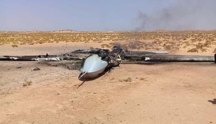 Libya'da Bir Türk İHA'sı Daha Düşürüldü İddiası