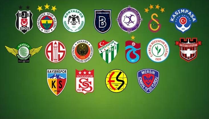 İşte Süper Lig'de İlk Hafta Programı