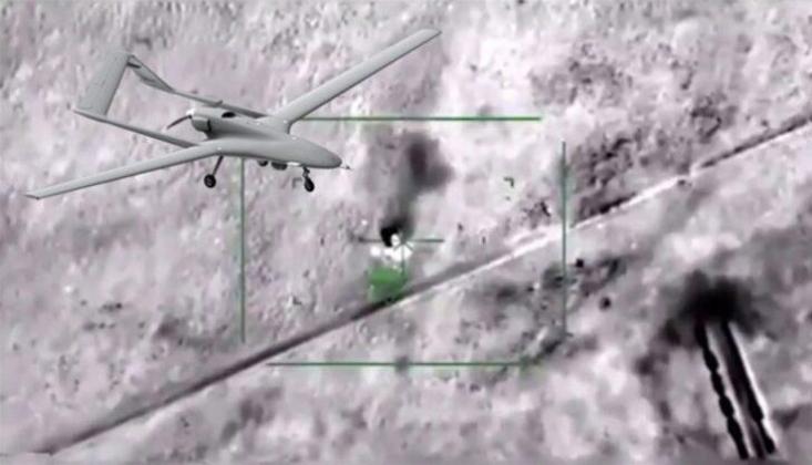 Irak-Suriye Sınırında Haşdi Şabi'ye İHA'lı Saldırı