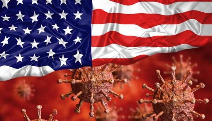 ABD'de Günlük Kovid-19 Vaka Sayısı 56 Bini Geçti