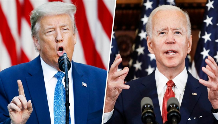 Trump ve Biden'dan Peş Peşe Açıklamalar!