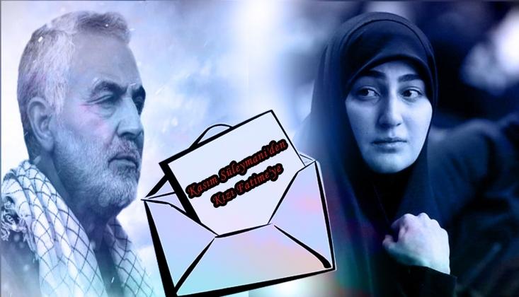 Kasım Süleymani'den Kızı Fatime'ye /VİDEO -ALTYAZI