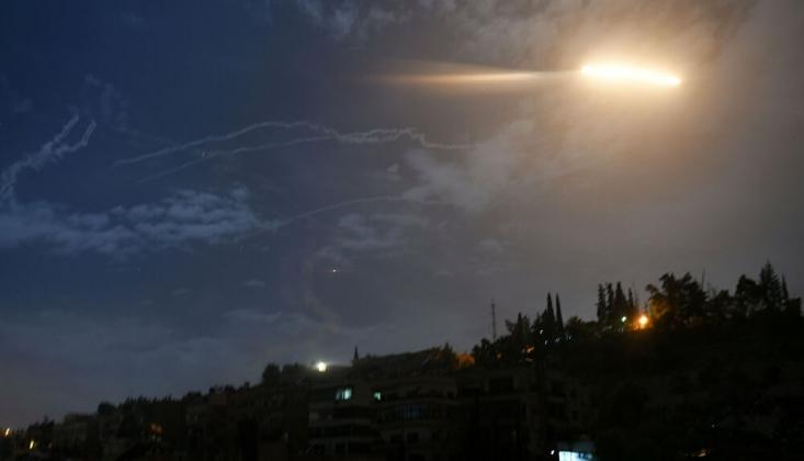 Suriye Hava Savunma Sistemleri Irkçı İsrail Saldırısını Püskürttü