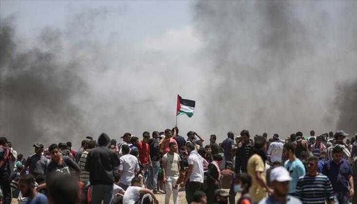 Büyük Dönüş Yürüyüşü'ne Irkçı İsrail Saldırısı