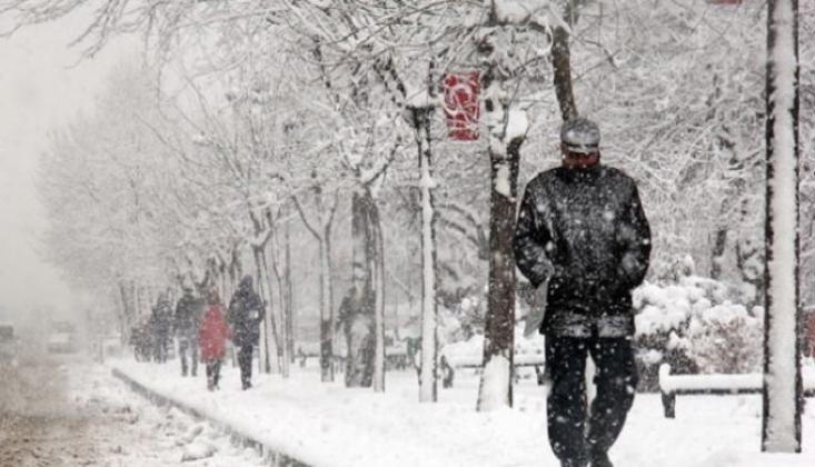 Meteoroloji'den 13 İl İçin Kar Yağışı Uyarısı
