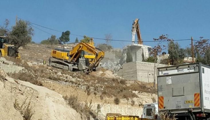 İşgalci İsrail 140 Evi Yıktı
