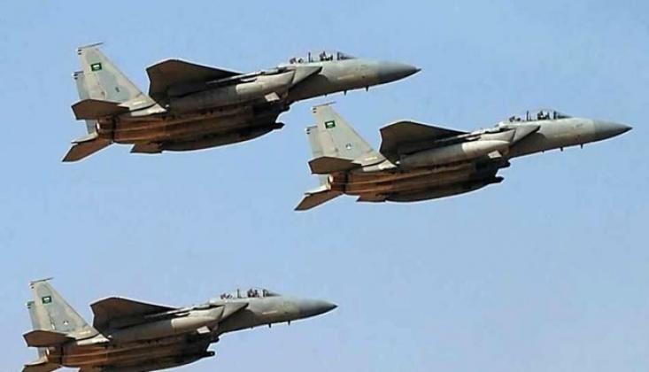 Barıştan Bahseden Suud Rejimi Marib'i Bombaladı