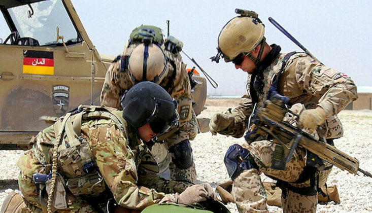 Almanya İşgal Kuvvetlerini Afganistan'dan Çekiyor