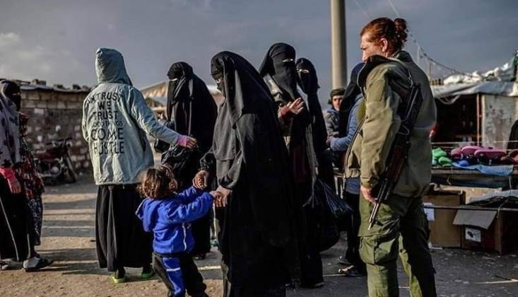ABD IŞİD'lilerin Ailelerini Suriye'den Irak'a Taşıdı