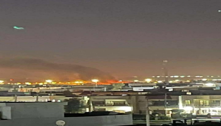 Erbil Havaalanı Yakınlarında Patlama Sesleri Duyuldu