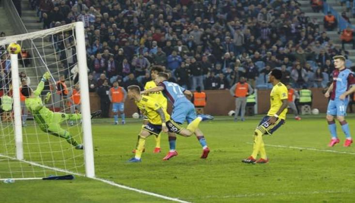 Fenerbahçe'nin Serisini Trabzonspor Bitirdi!