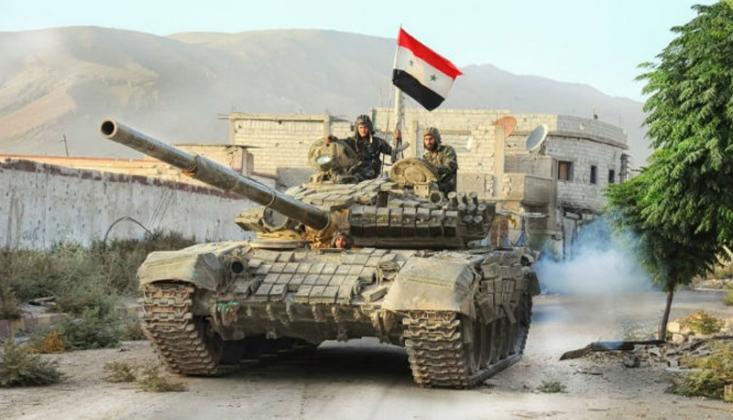 Suriye Ordusu Serakib'e Girdi