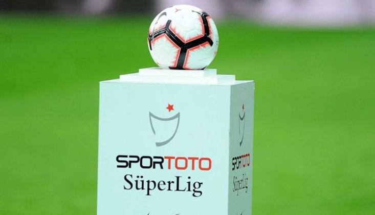 Süper Lig'de 5 Haftalık Fikstür Açıklandı