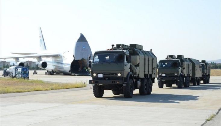 S-400'lerin Teslimatının İkinci Etabının Tamamlandı
