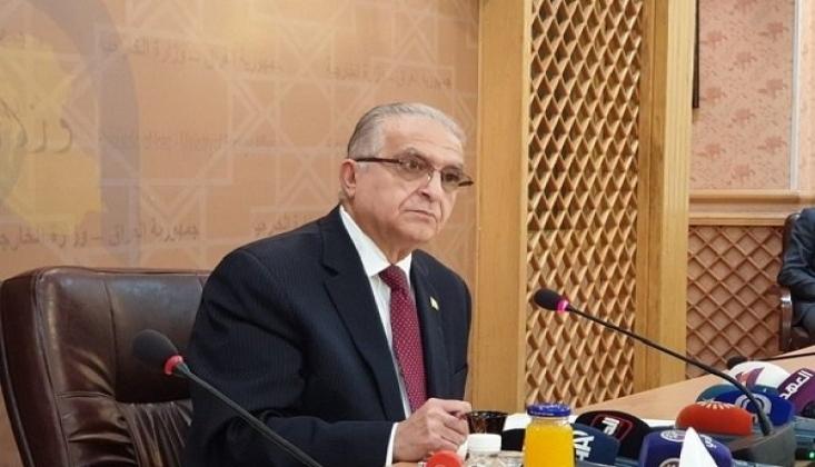 Irak Dışişleri Bakanı Bölgedeki Gerginliğin Sebebini Açıkladı