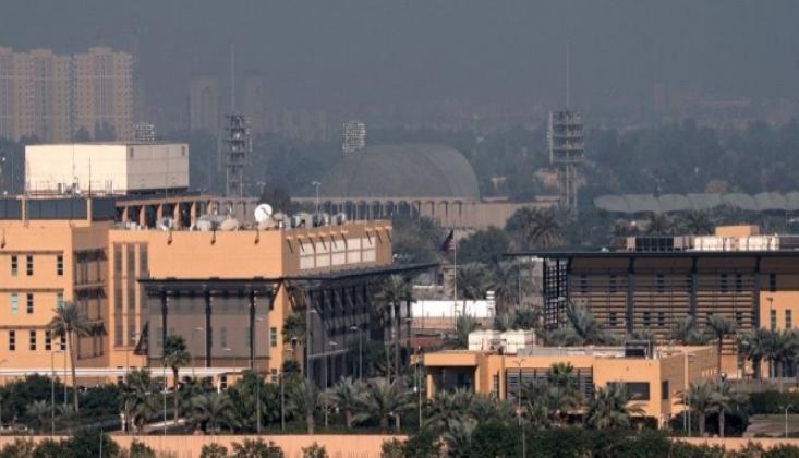 Bağdat'da ABD Büyükelçiliği Yakınına Füze Düştü