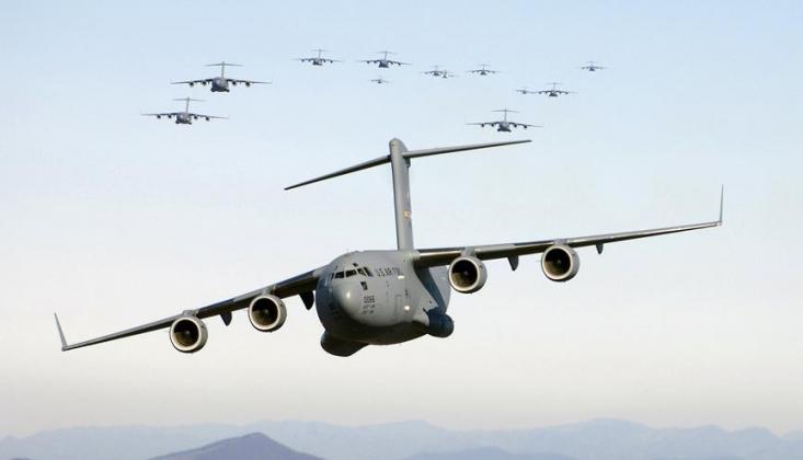 Venezüella Ordusu ABD Uçağını İmha Etti