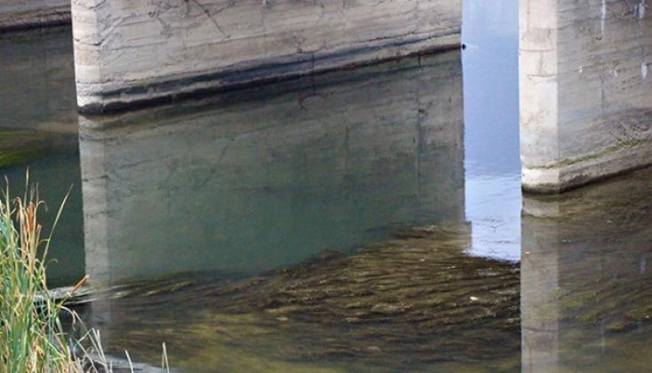 Yeşilırmak'ta Su Seviyesi Alarm Veriyor