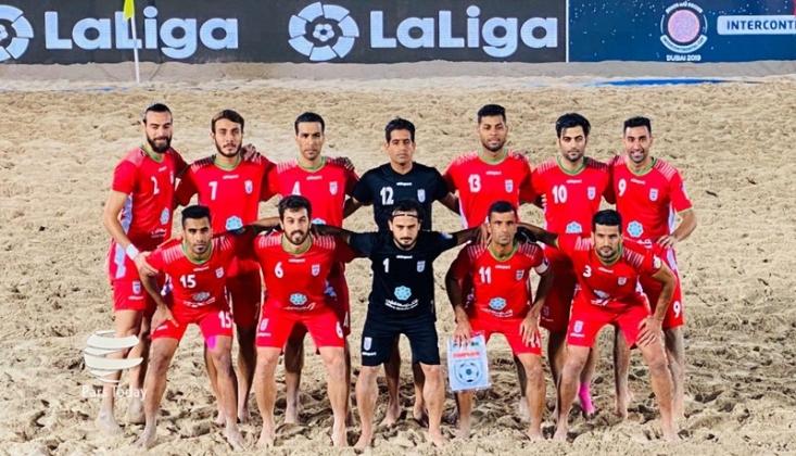İran Kıtalararası Sahil Futbol Müsabakalarında Yarı Finalde