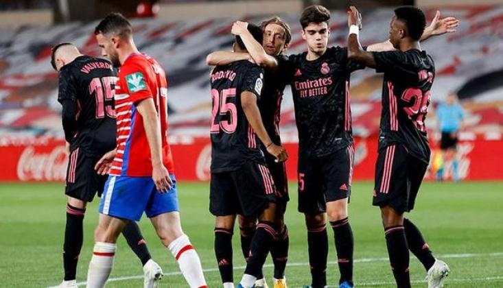 Real Madrid Granada'yı 4-1 Mağlup Etti