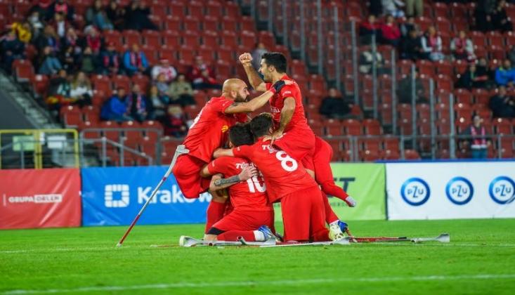 Ampute Futbol Milli Takımı, Avrupa Şampiyonu Oldu!