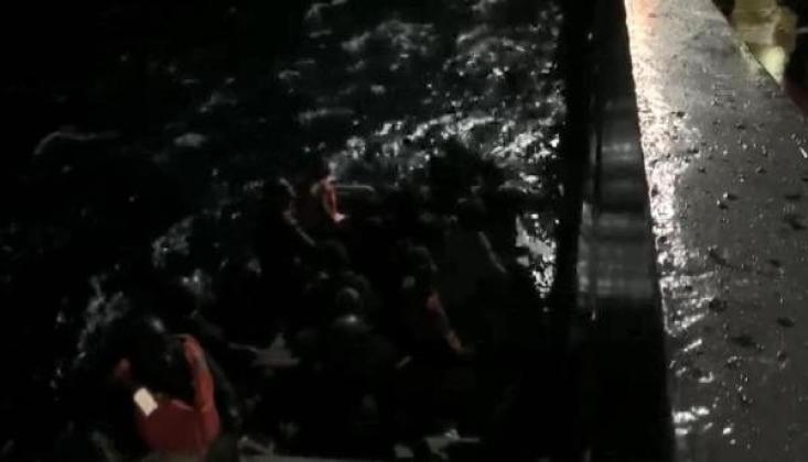 İspanya Açıklarındaki Mültecilerin İmdadına Türk Denizciler Yetişti