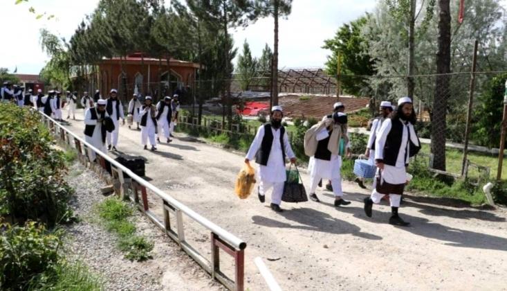 2 Bin Taliban Üyesi Serbest Bırakılıyor